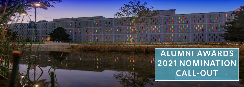 We are currently seeking Alumni Award Nominations!