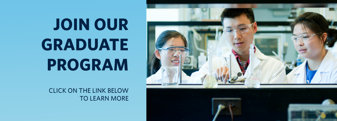 Join UBC Chemistry as a Graduate Student